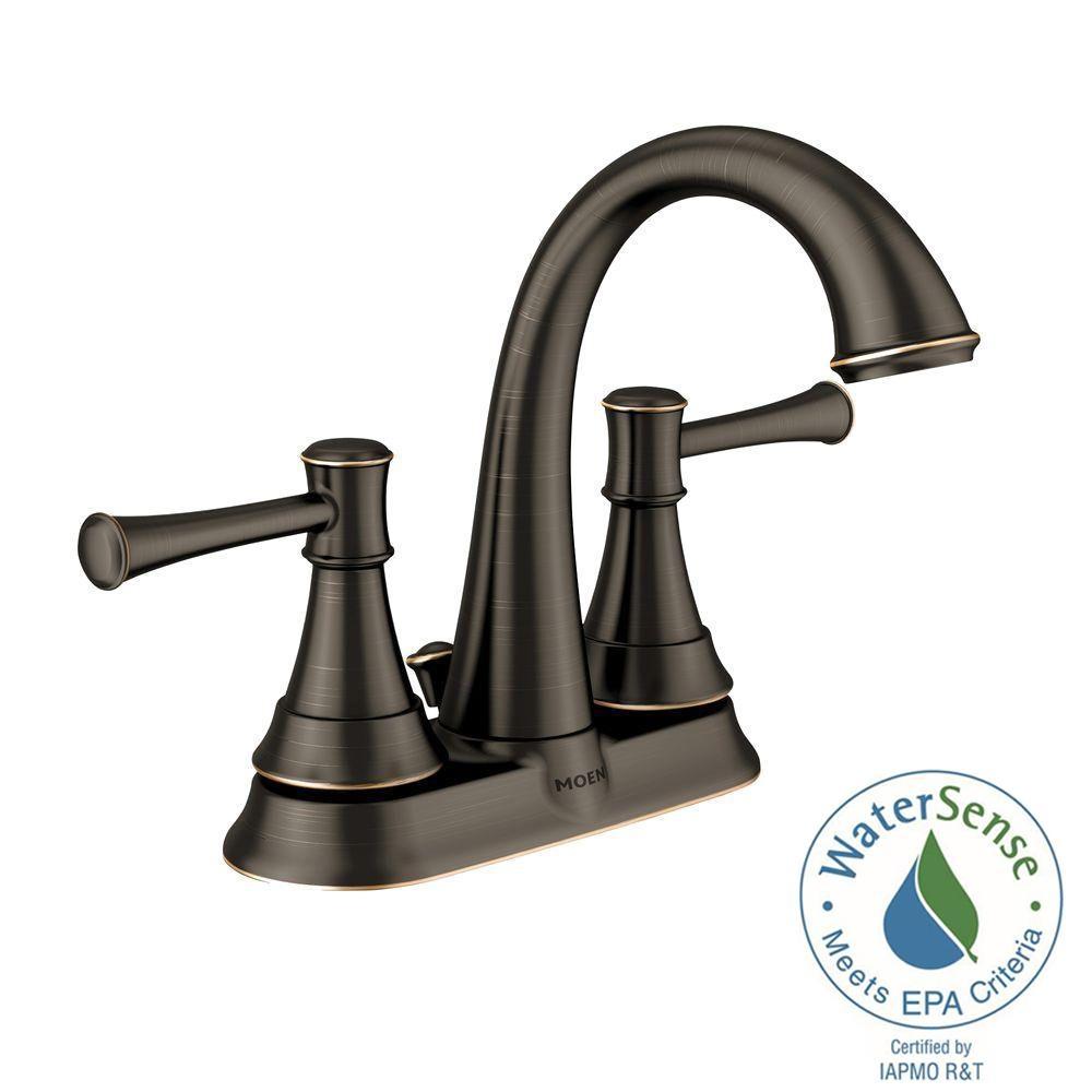 Ideas, moen ashville 4 in centerset 2 handle bathroom faucet with regarding proportions 1000 x 1000  .