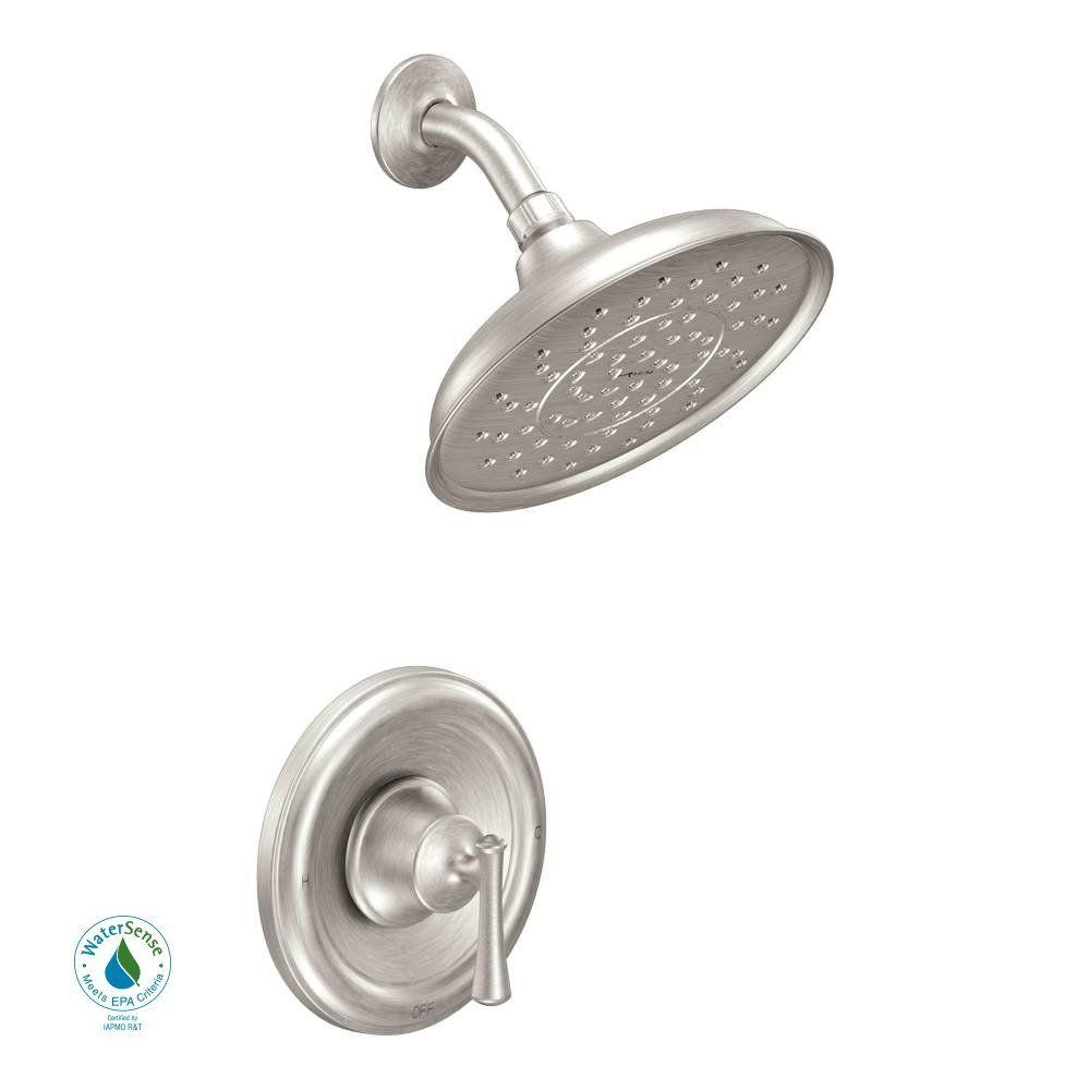 moen banbury shower head and faucet moen banbury shower head and faucet moen ashville single handle 1 spray shower faucet with valve in 1000 x 1000