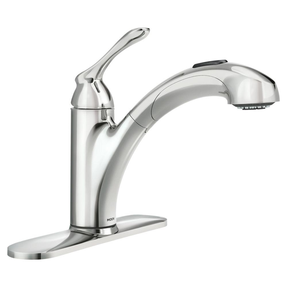 Ideas, moen banbury single handle pull out sprayer kitchen faucet with within measurements 1000 x 1000  .