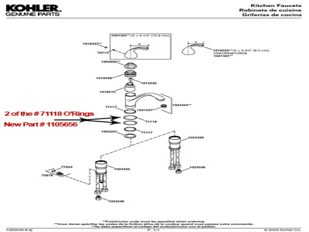 Moen Kitchen Faucet Parts Diagram As Well Old Moen Kitchen Faucet