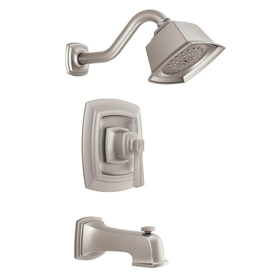 moen boardwalk 1 handle watersense tub and shower valve included for proportions 900 x 900