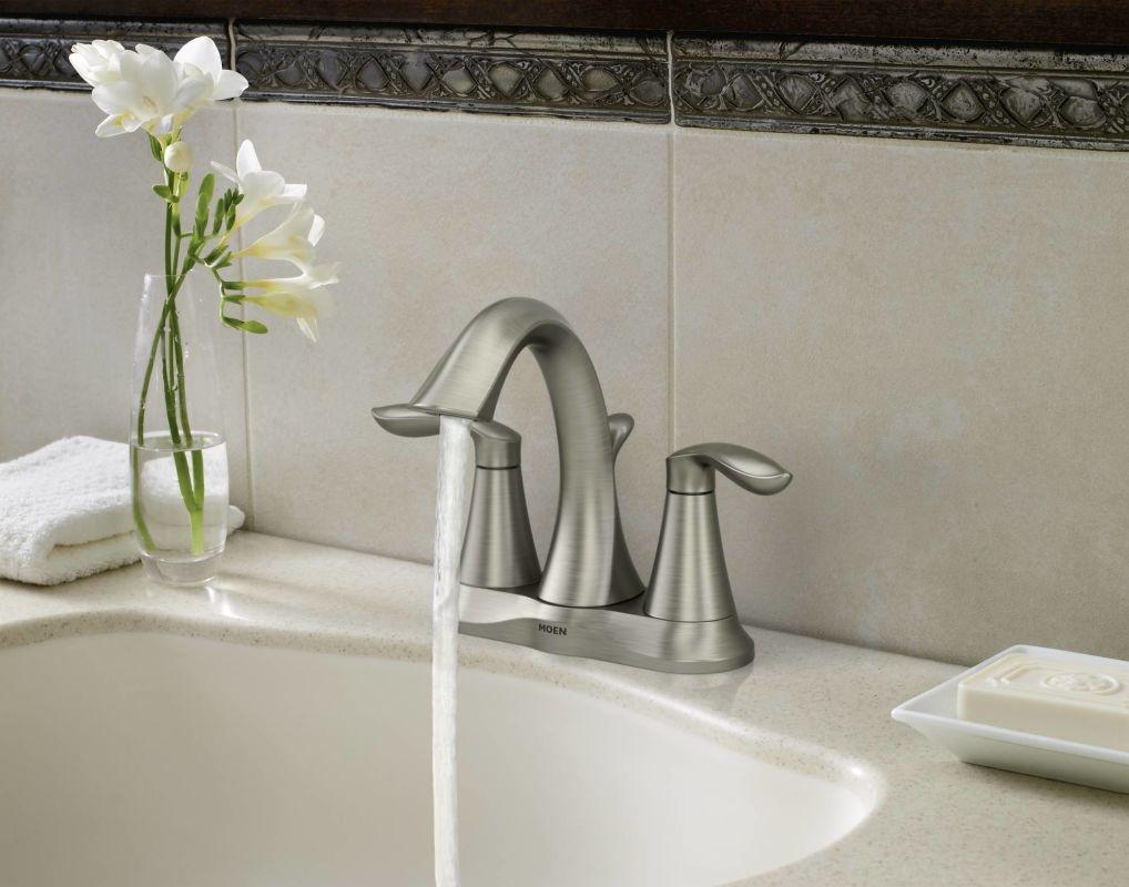 Ideas, moen brushed chrome bathroom faucets moen brushed chrome bathroom faucets faucet 6410 in chrome moen 1018 x 800  .