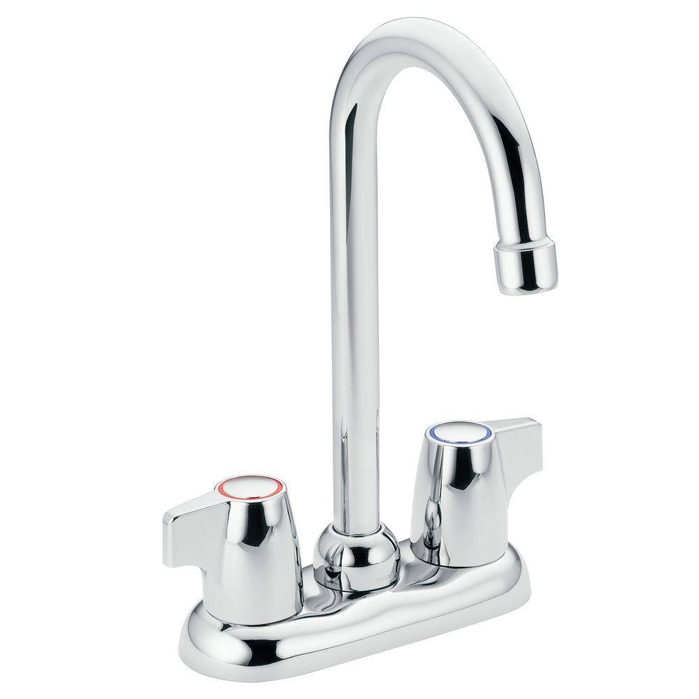 Ideas, moen chateau 2 handle high arc bar faucet in chrome 4903 the pertaining to measurements 1000 x 1000  .