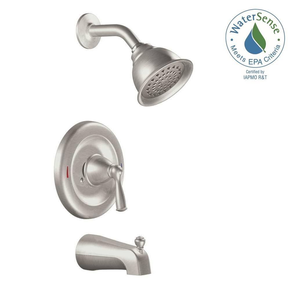 Ideas, moen danika shower faucet moen danika shower faucet moen banbury single handle 1 spray tub and shower faucet with 1000 x 1000  .