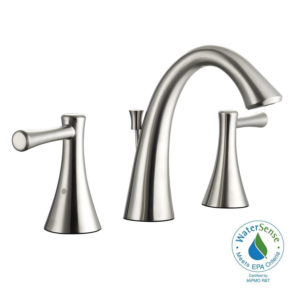 Ideas, moen darcy 8 in widespread 2 handle high arc bathroom faucet in in dimensions 1000 x 1000  .
