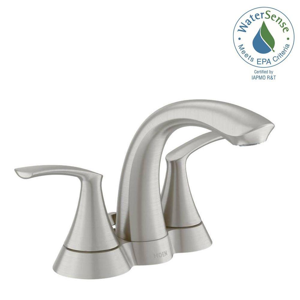 Ideas, moen darcy faucet brushed nickel moen darcy faucet brushed nickel moen darcy 4 in centerset 2 handle bathroom faucet in spot resist 1000 x 1000  .