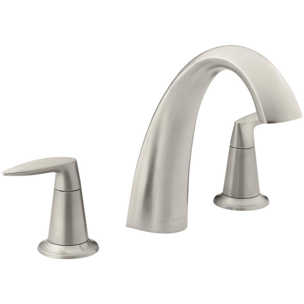 Ideas, moen eva 8 in widespread 2 handle high arc bathroom faucet trim inside proportions 1000 x 1000  .