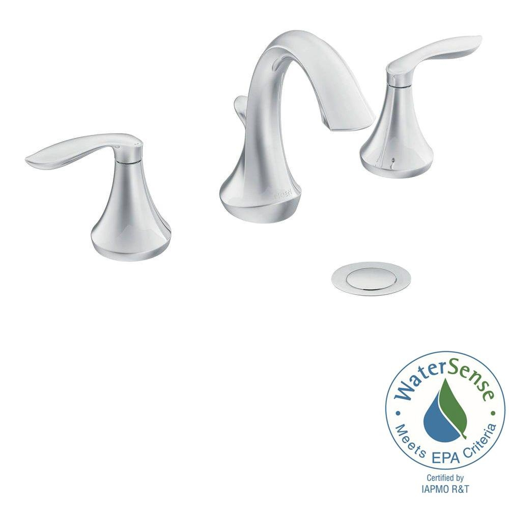 moen eva faucet t6420 moen eva faucet t6420 moen eva 8 in widespread 2 handle high arc bathroom faucet trim 1000 x 1000
