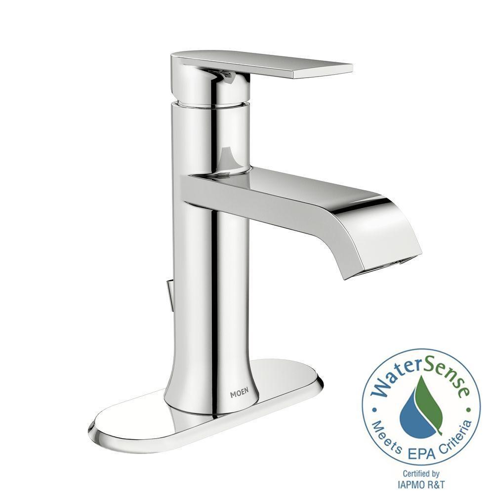 Ideas, moen genta single hole single handle bathroom faucet in spot throughout proportions 1000 x 1000  .