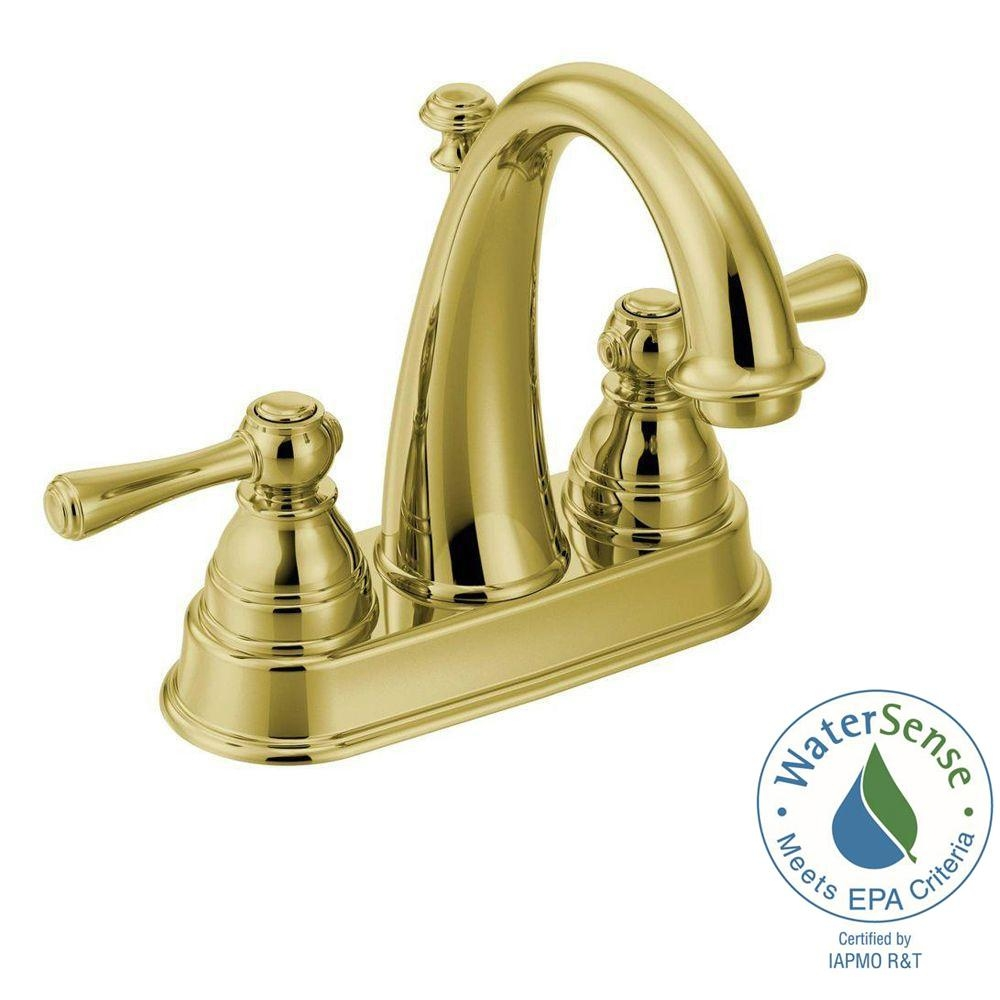Ideas, moen kingsley 4 in centerset 2 handle high arc bathroom faucet in with regard to proportions 1000 x 1000  .