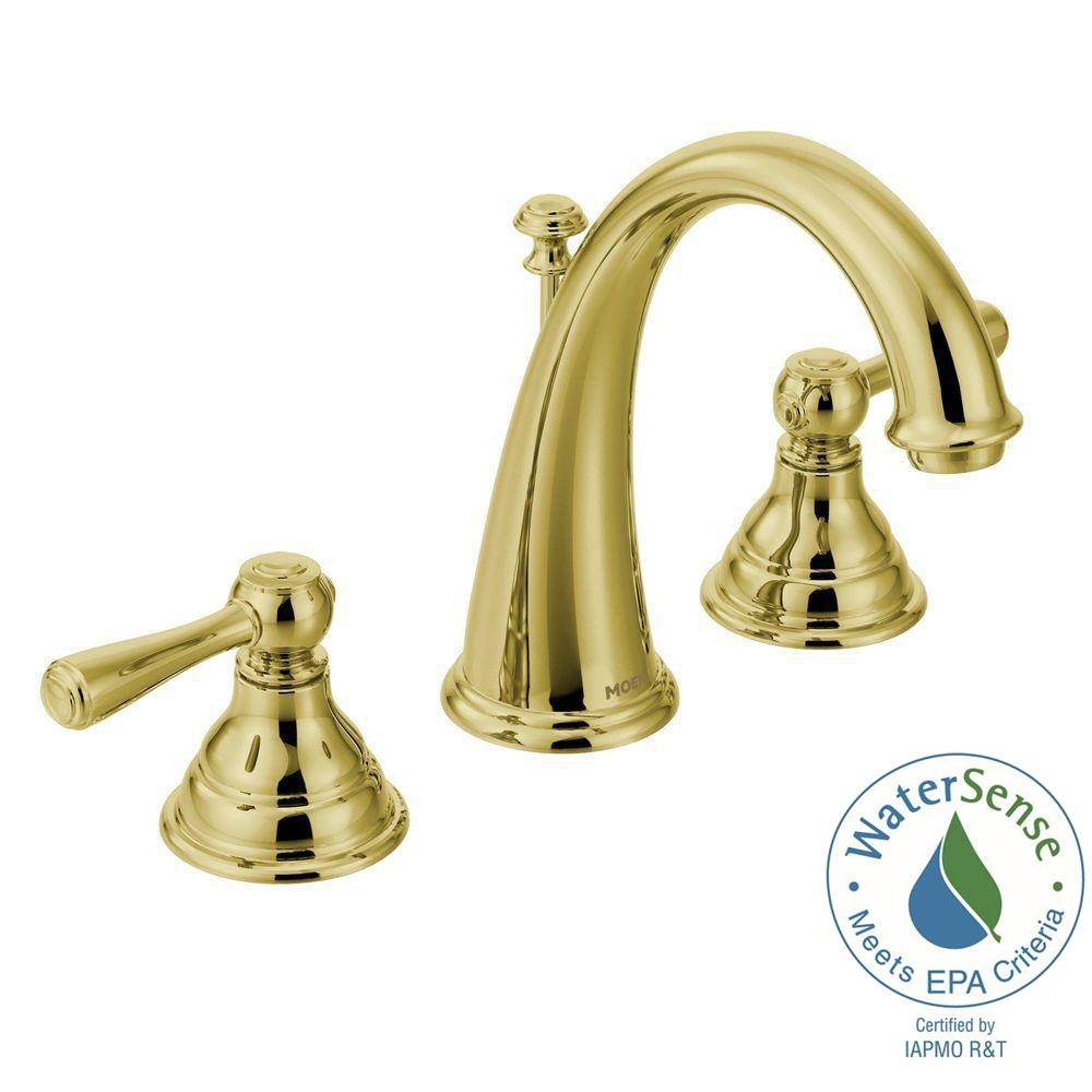 Ideas, moen kingsley 8 in widespread 2 handle high arc bathroom faucet pertaining to size 1000 x 1000  .