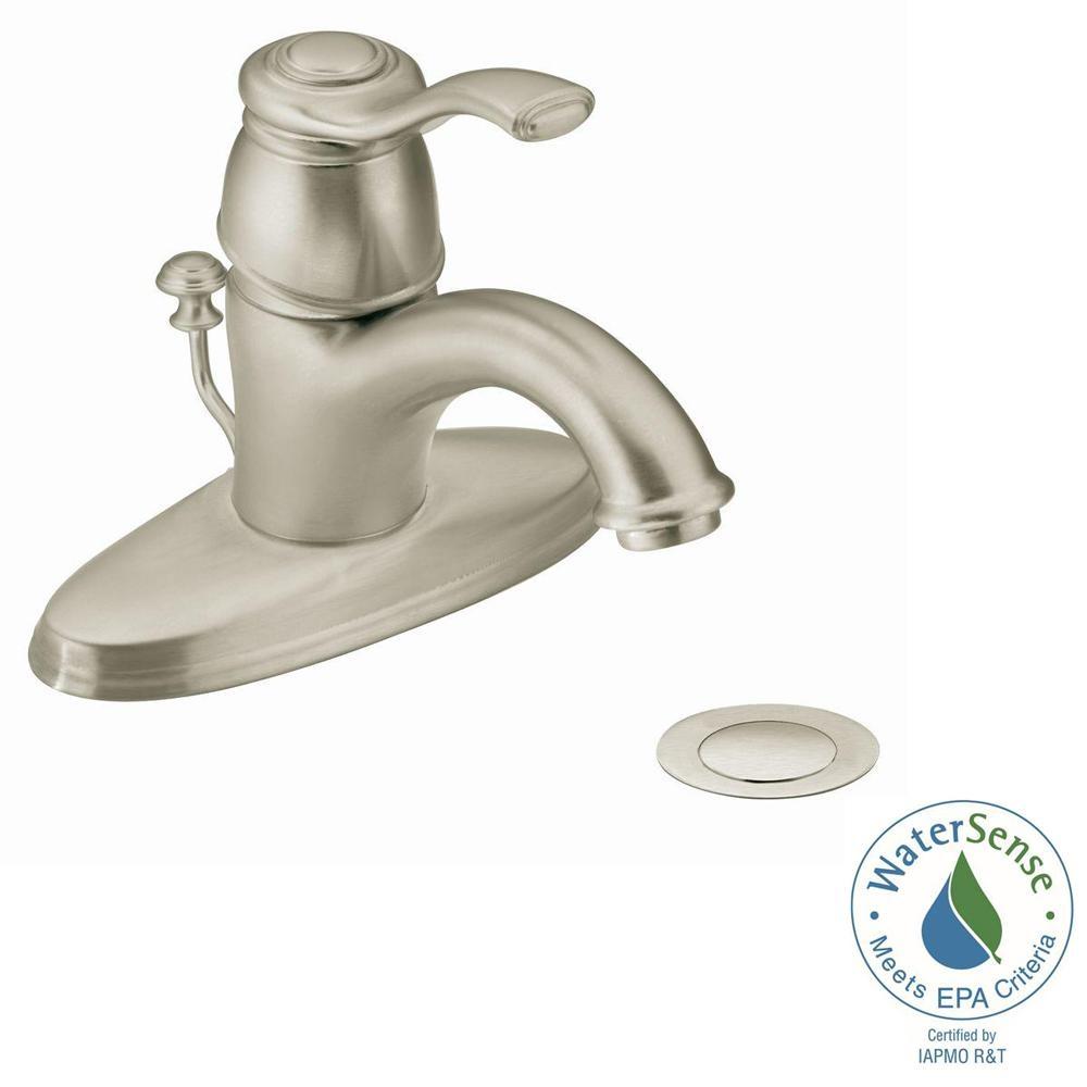 moen kingsley vessel faucet moen kingsley vessel faucet moen kingsley single hole 1 handle bathroom faucet in brushed 1000 x 1000