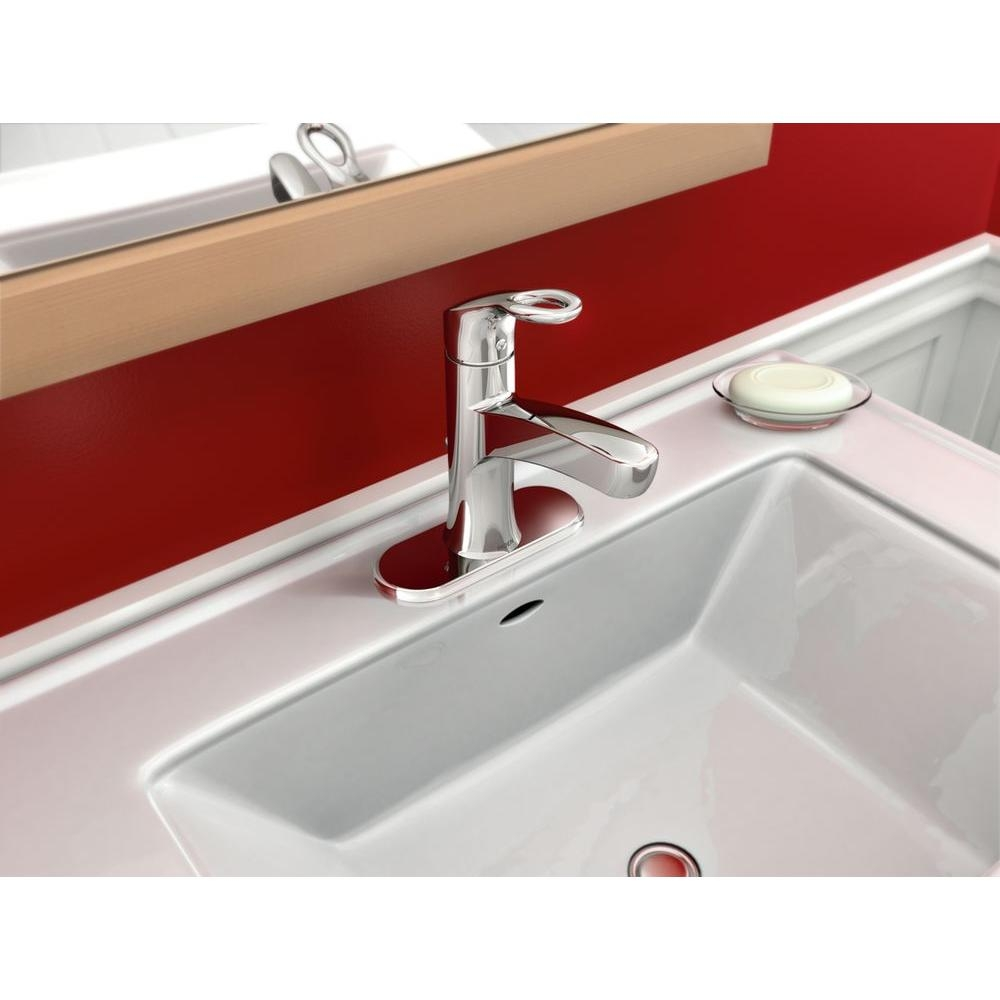 Ideas, moen kleo single hole single handle mid arc bathroom faucet in intended for sizing 1000 x 1000  .