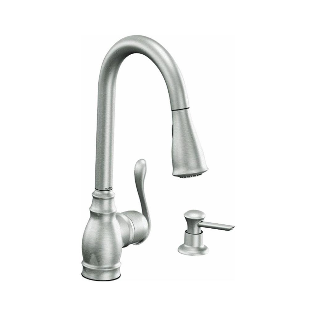 moen long neck kitchen faucet