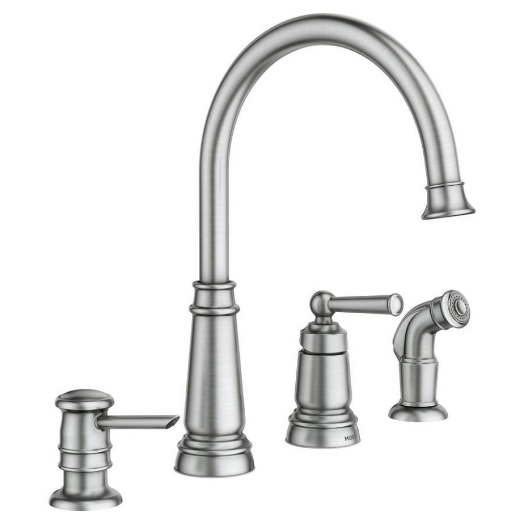moen monticello faucet soscia focus for moen monticello kitchen regarding dimensions 1024 x 1024
