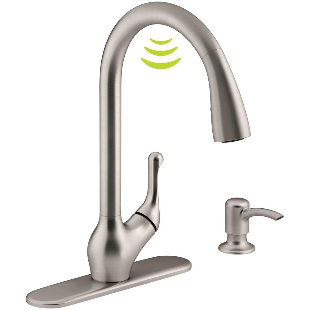 Ideas, moen motionsense kitchen faucet ac adapter moen motionsense kitchen faucet ac adapter moen haysfield single handle pull down sprayer touchless kitchen 1000 x 1000 2  .