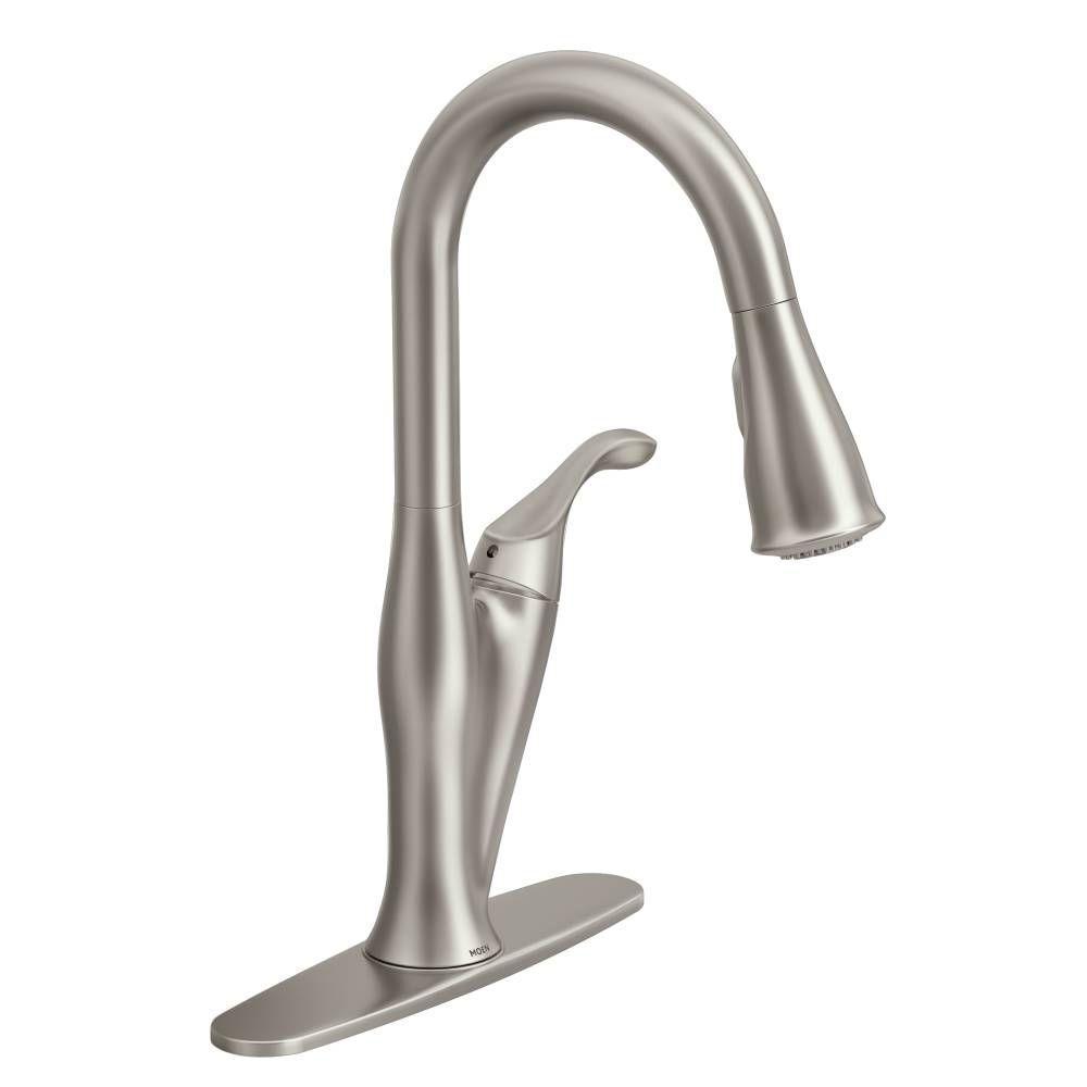 Ideas, moen motionsense kitchen faucet ac adapter moen motionsense kitchen faucet ac adapter moen haysfield single handle pull down sprayer touchless kitchen 1000 x 1000 3  .