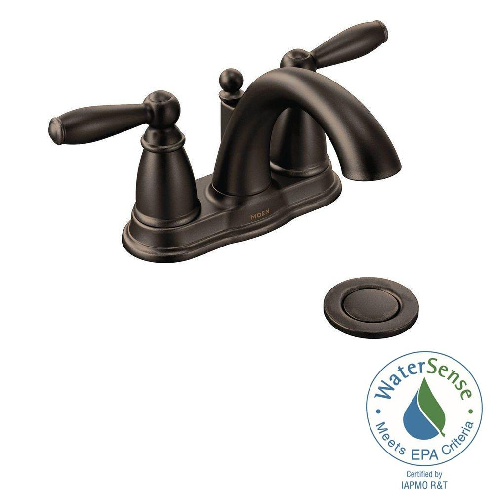 moen rubbed bronze bathroom faucets moen rubbed bronze bathroom faucets moen brantford 4 in centerset 2 handle low arc bathroom faucet in 1000 x 1000
