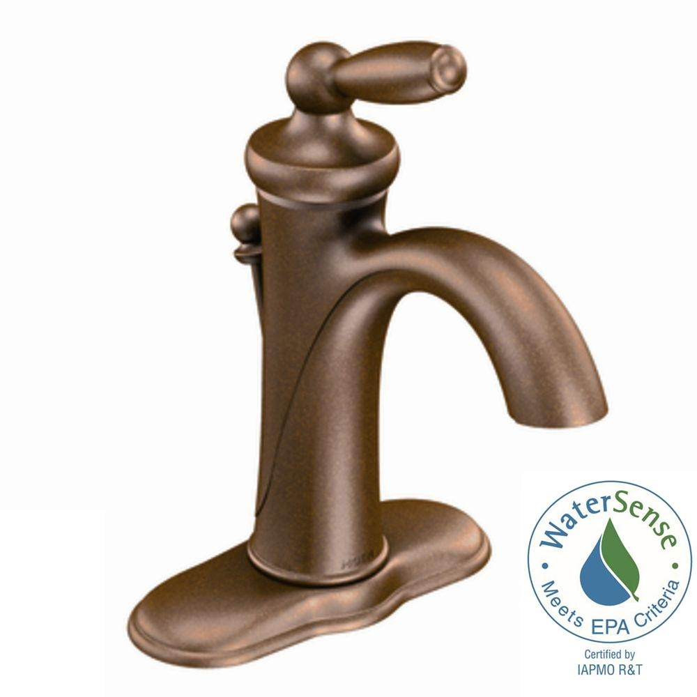Ideas, moen rubbed bronze bathroom faucets moen rubbed bronze bathroom faucets moen brantford single hole single handle low arc bathroom faucet 1000 x 1000  .