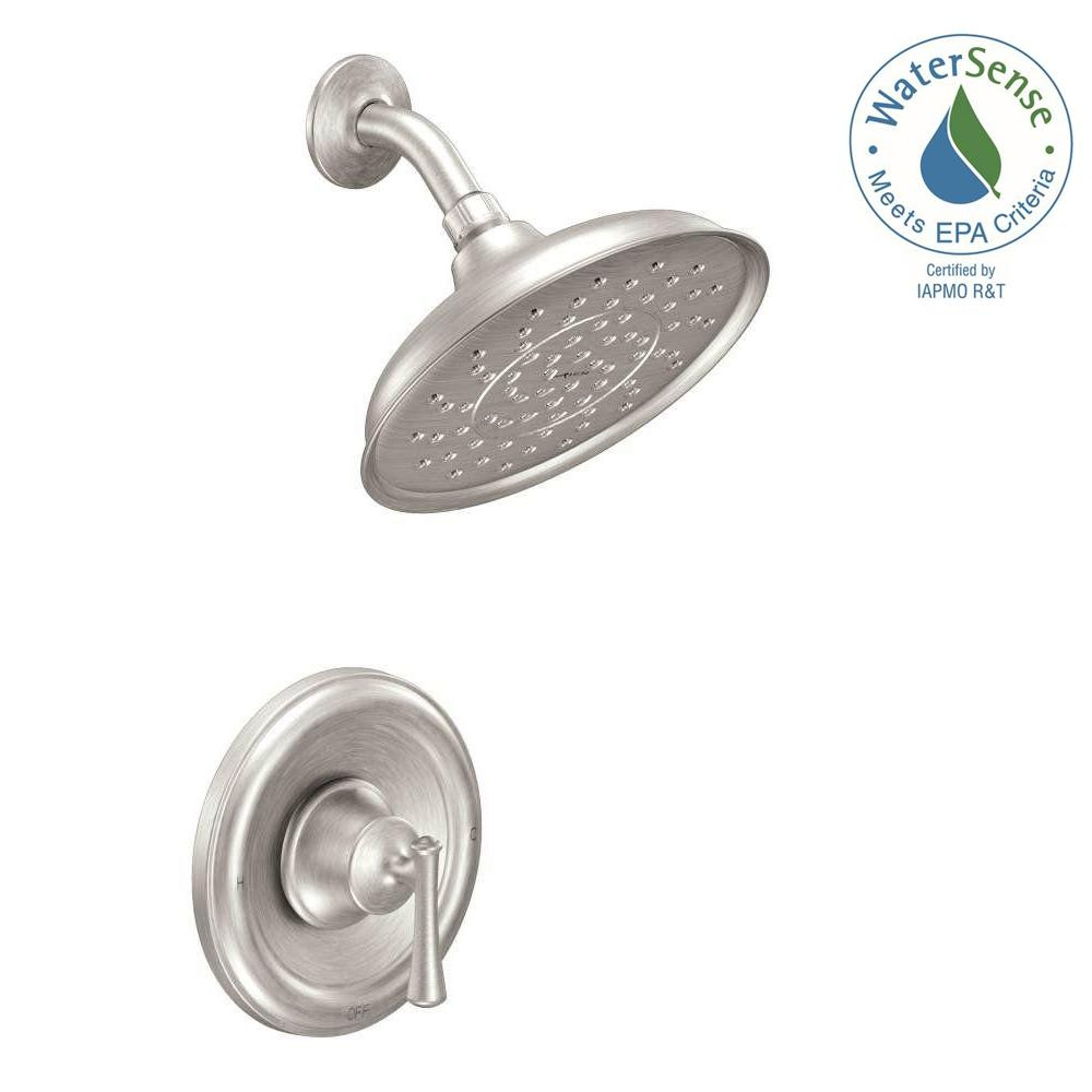 Ideas, moen showerheads shower faucets bathroom faucets the home regarding measurements 1000 x 1000  .
