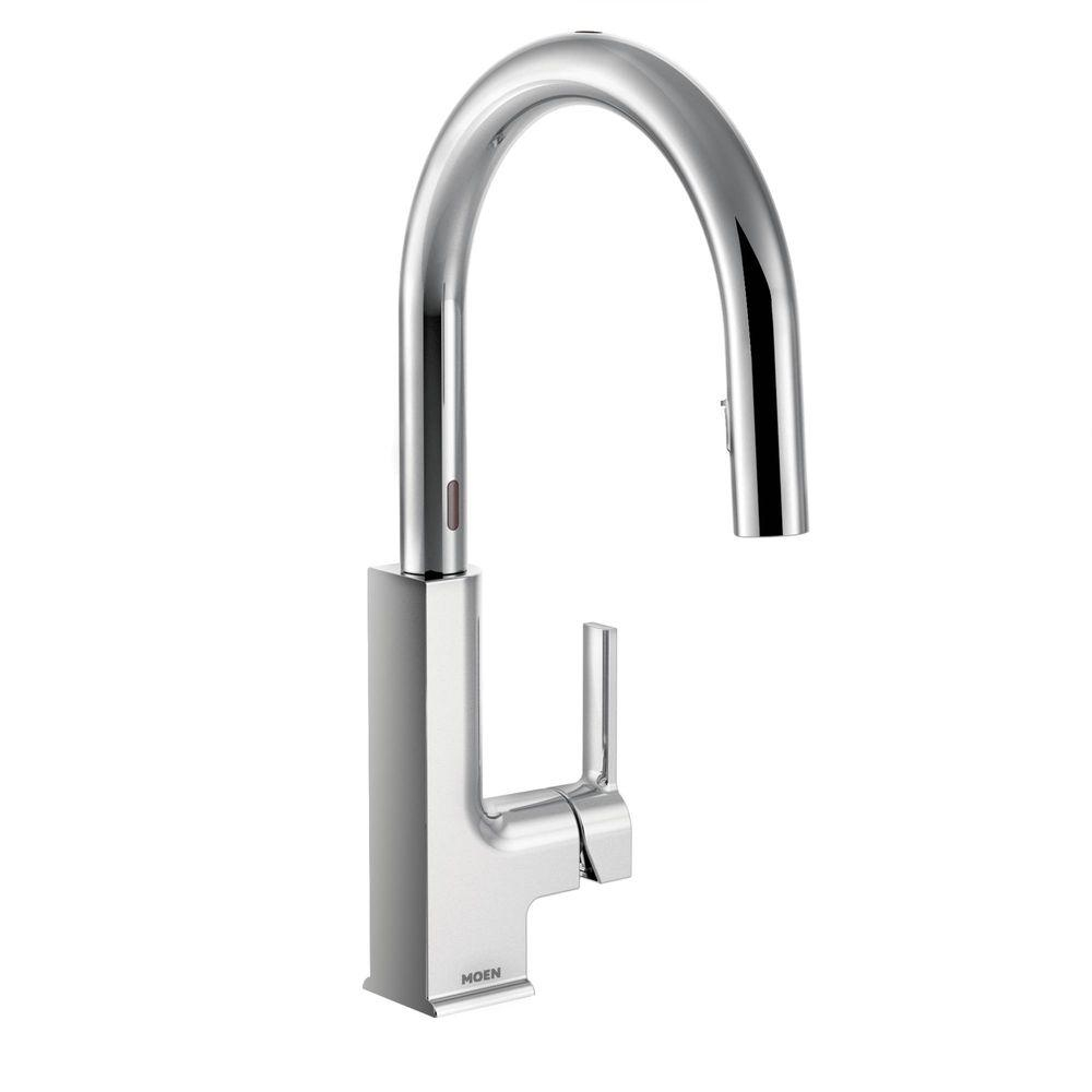 Ideas, moen sto single handle pull down sprayer touchless kitchen faucet within size 1000 x 1000  .