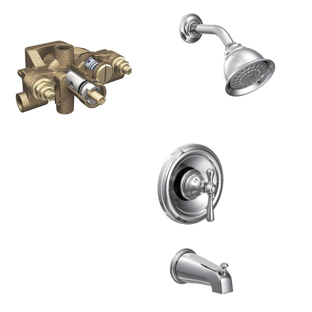 moen tub and shower faucet sets moen tub and shower faucet sets moen kingsley single handle 1 spray tub and shower faucet trim kit 1000 x 1000