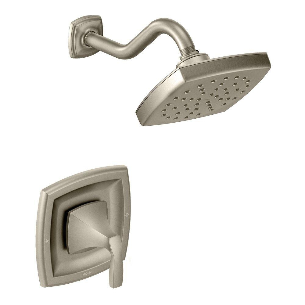 Ideas, moen voss single handle 1 spray moentrol shower faucet trim kit intended for proportions 1000 x 1000  .