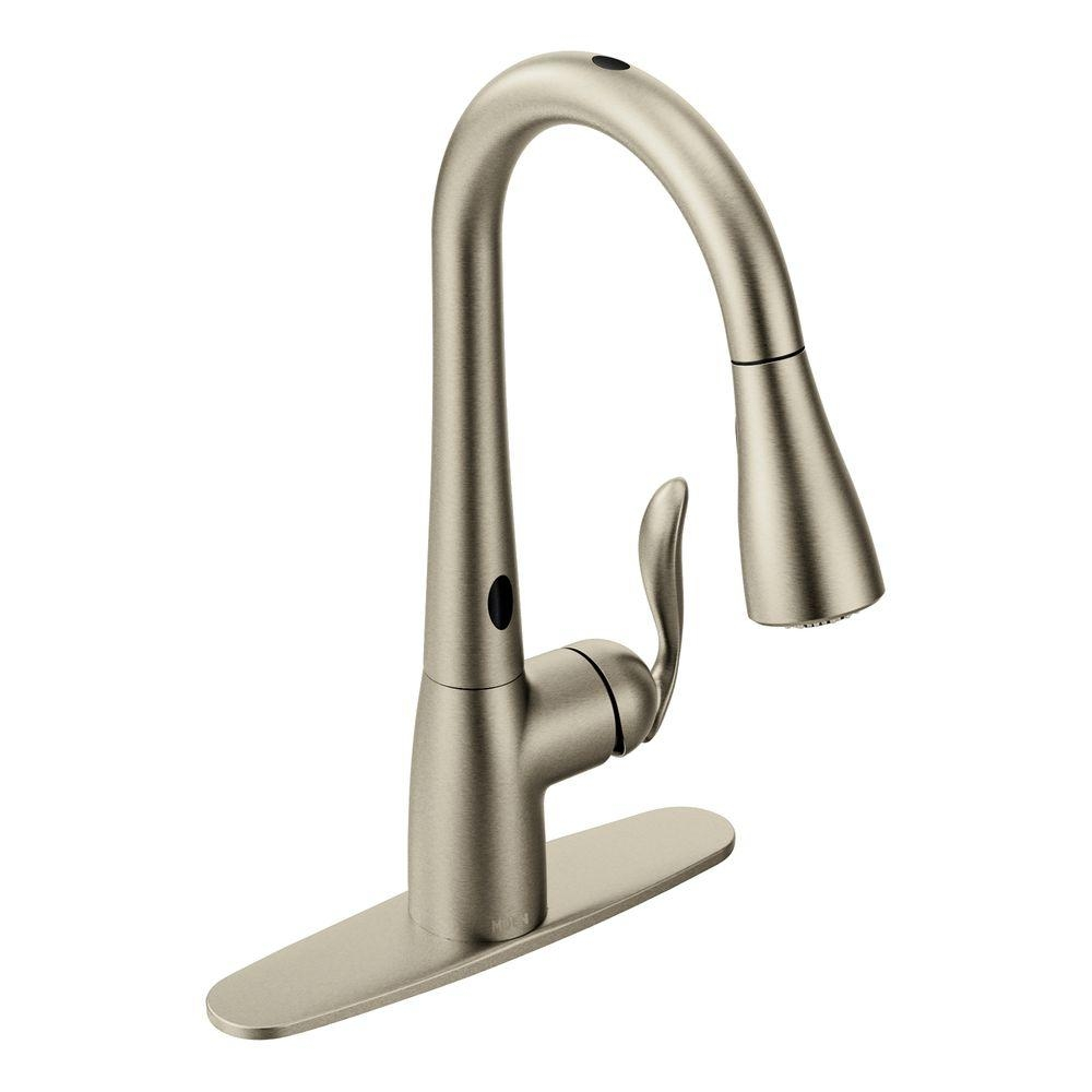 Ideas, moen walden faucet 87045msrs moen walden faucet 87045msrs moen walden single handle pull out sprayer kitchen faucet with 1000 x 1000 2  .