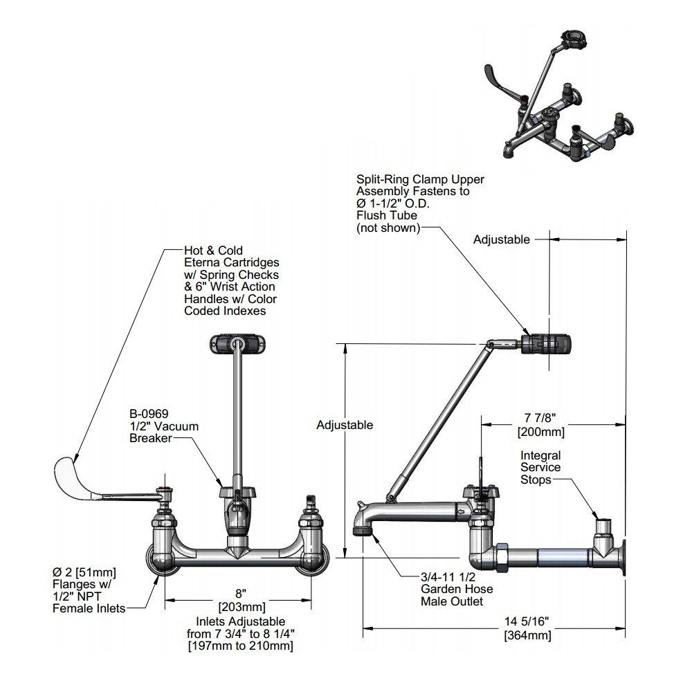 Mop Sink Faucet Mounting Height