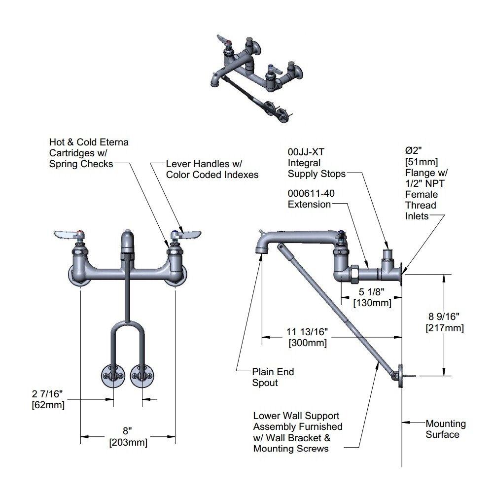 Mop Sink Faucet Height