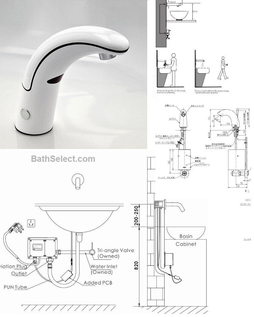 Ideas, motion sensing water faucet motion sensing water faucet installations instructions for motion sensor faucets 854 x 1064  .