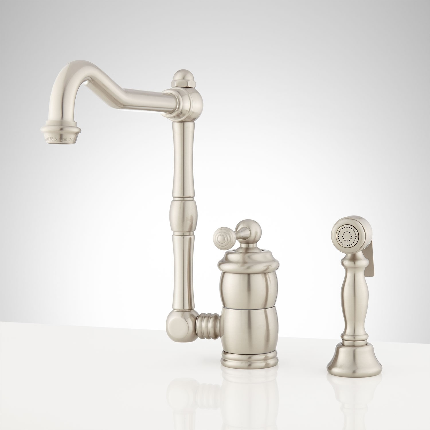 Ideas, mulder single hole kitchen faucet with side spray kitchen inside size 1500 x 1500  .