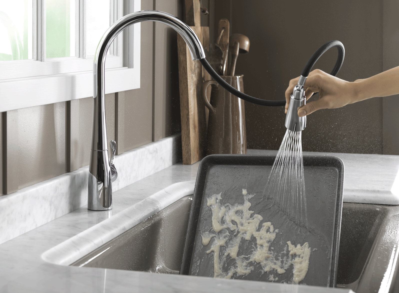 Ideas, no touch kitchen sensor faucet within proportions 1596 x 1172  .