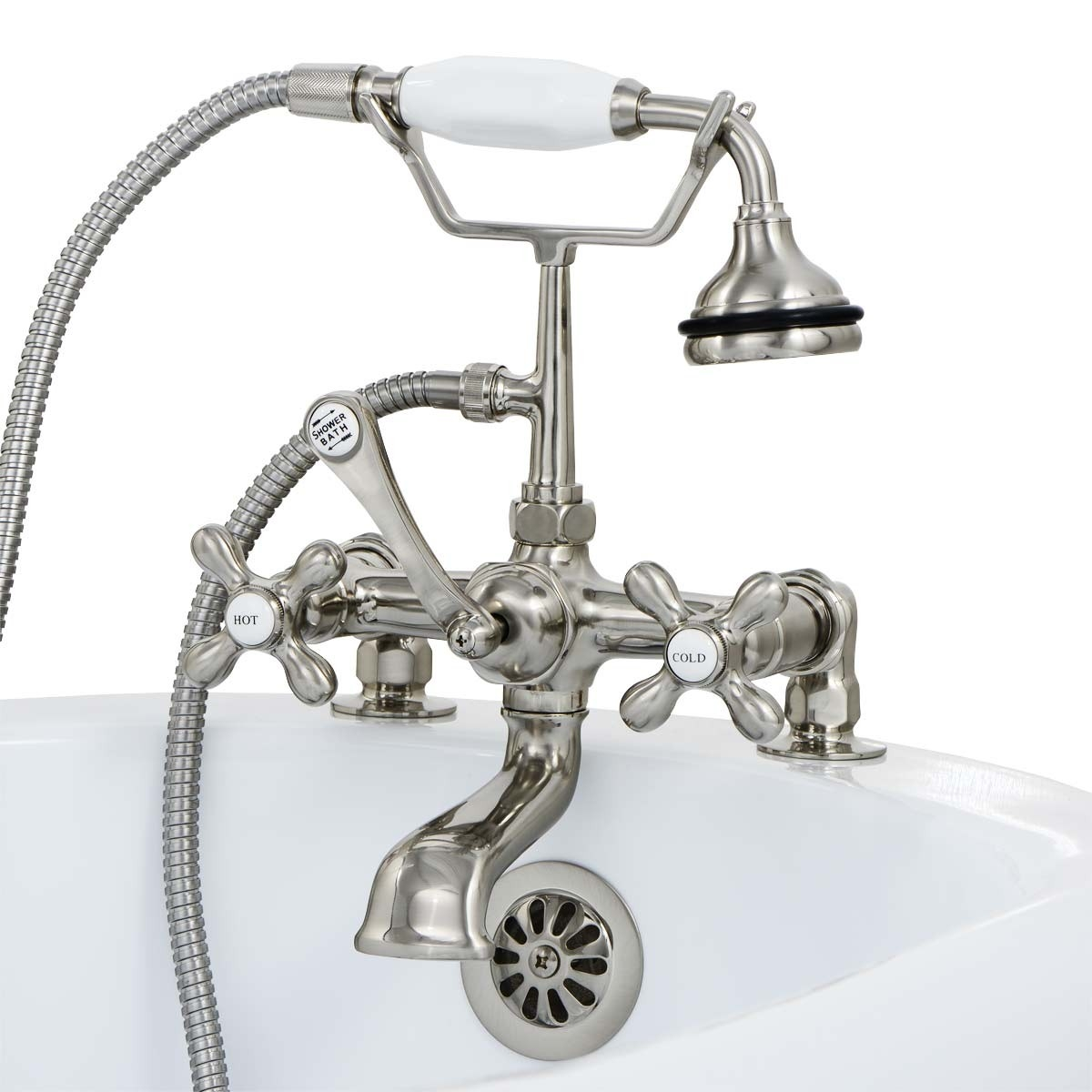 Ideas, old fashioned tub faucets old fashioned tub faucets randolph morris deck mount british telephone clawfoot tub faucet w 1200 x 1200  .