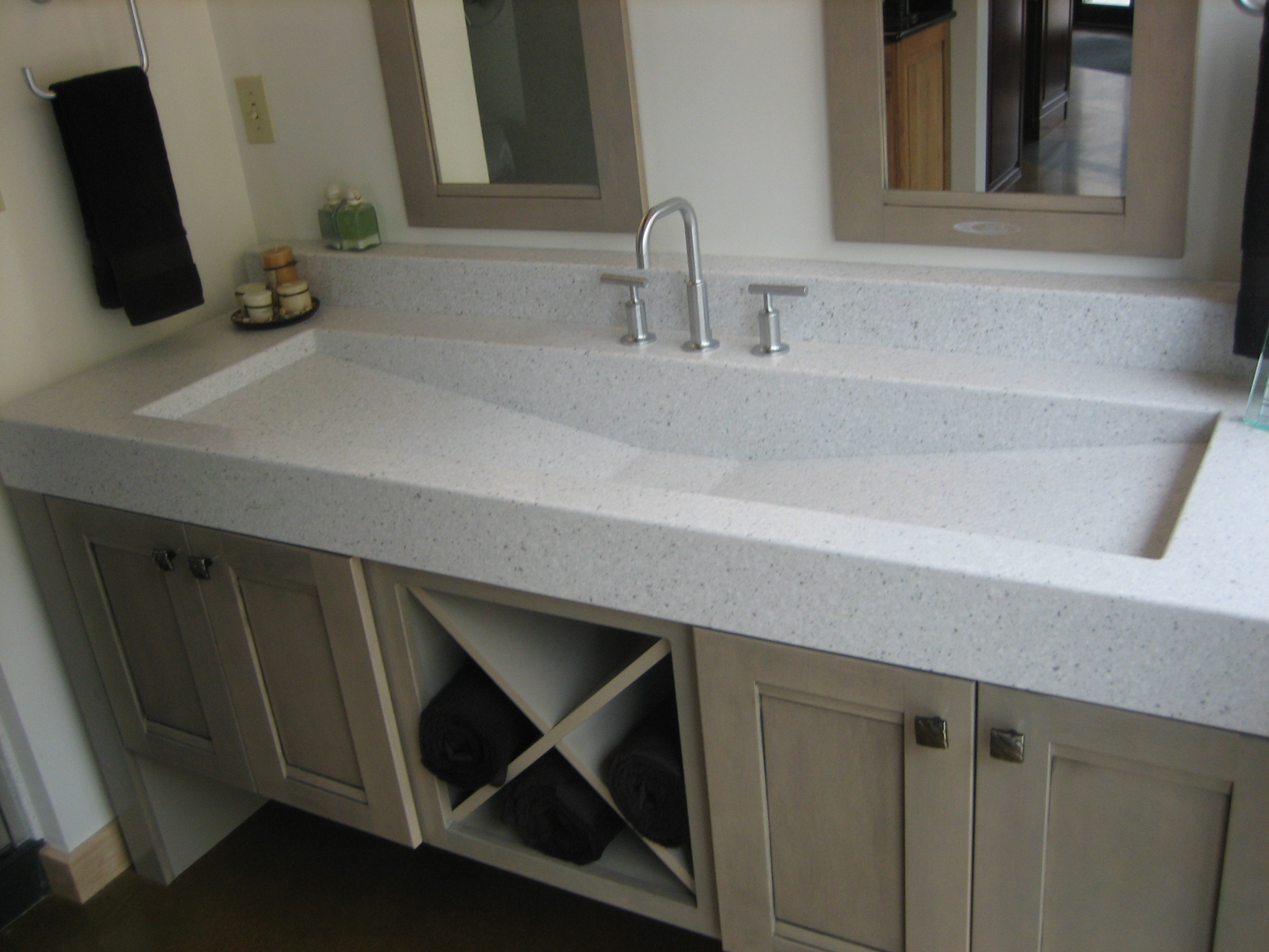 Ideas, one kitchen sink with two faucets one kitchen sink with two faucets bathroom fabulous trough sink for bathroom and kitchen 2592 x 1944  .