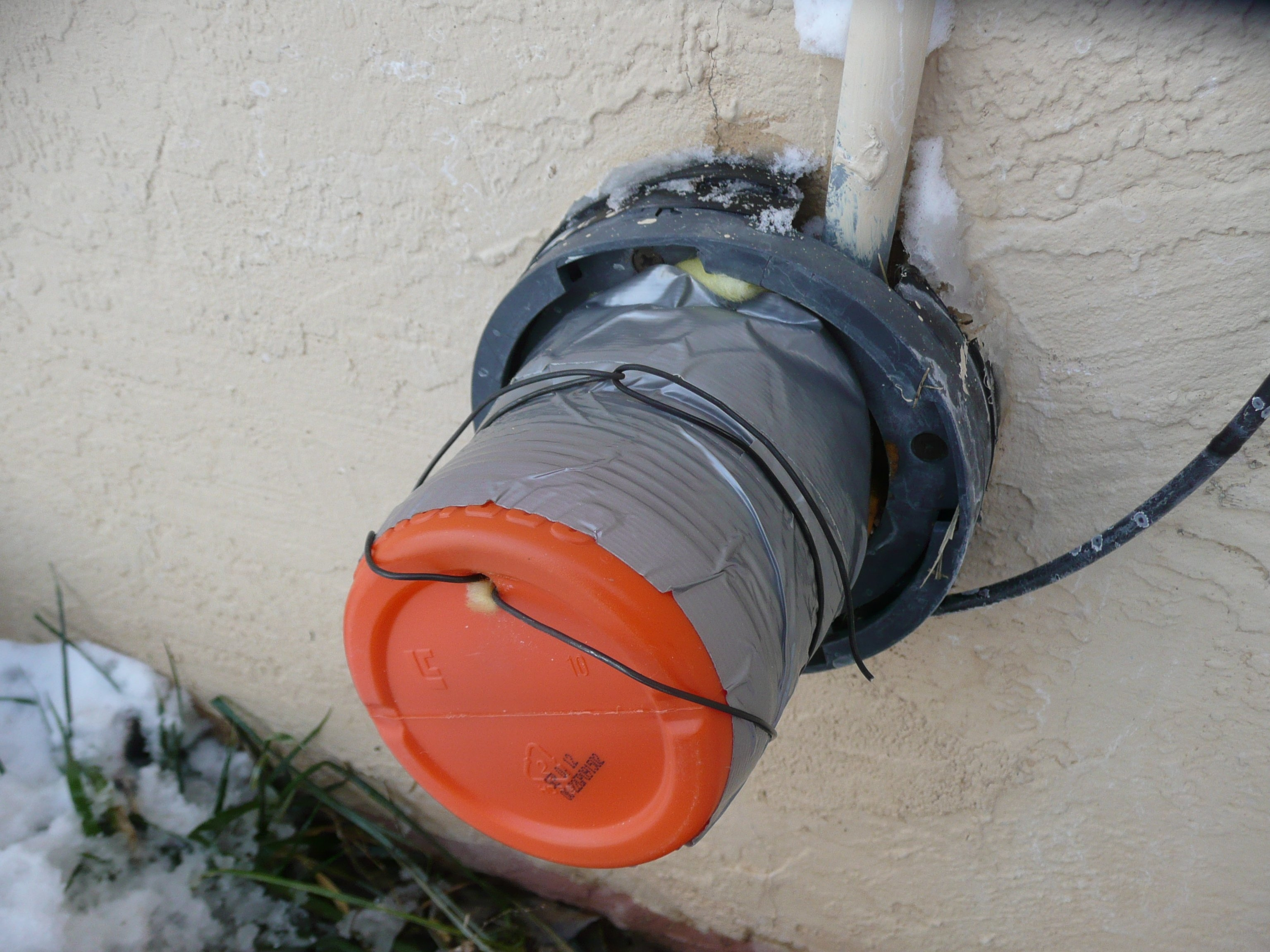 Ideas, outdoor faucet cover in a hurry make regarding sizing 3072 x 2304  .
