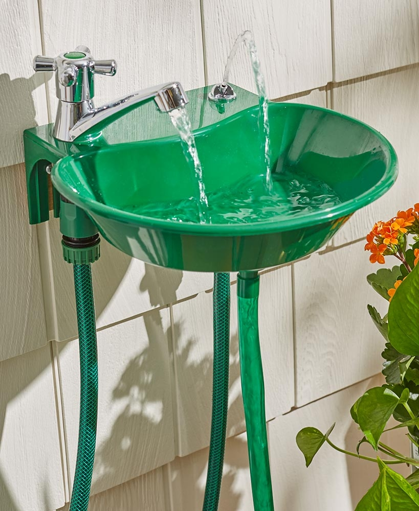 Outdoor Faucet Drinking Fountain Attachment