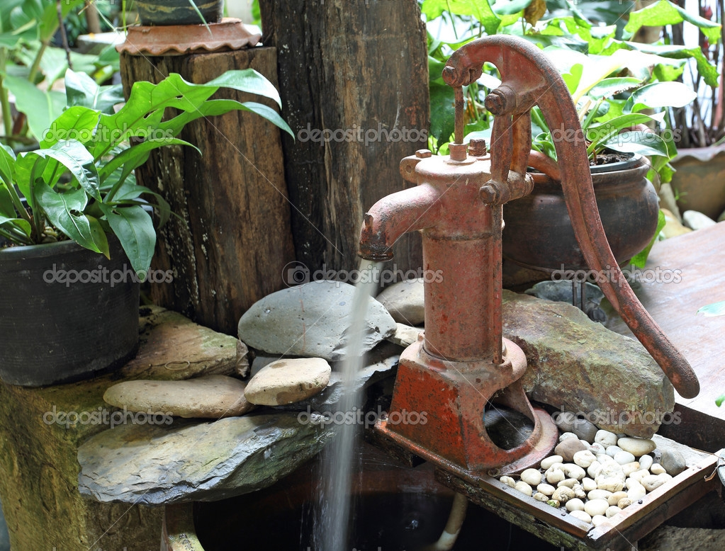 Ideas, outdoor hanging furniture oldfashioned water pump faucet old with throughout measurements 1023 x 778  .