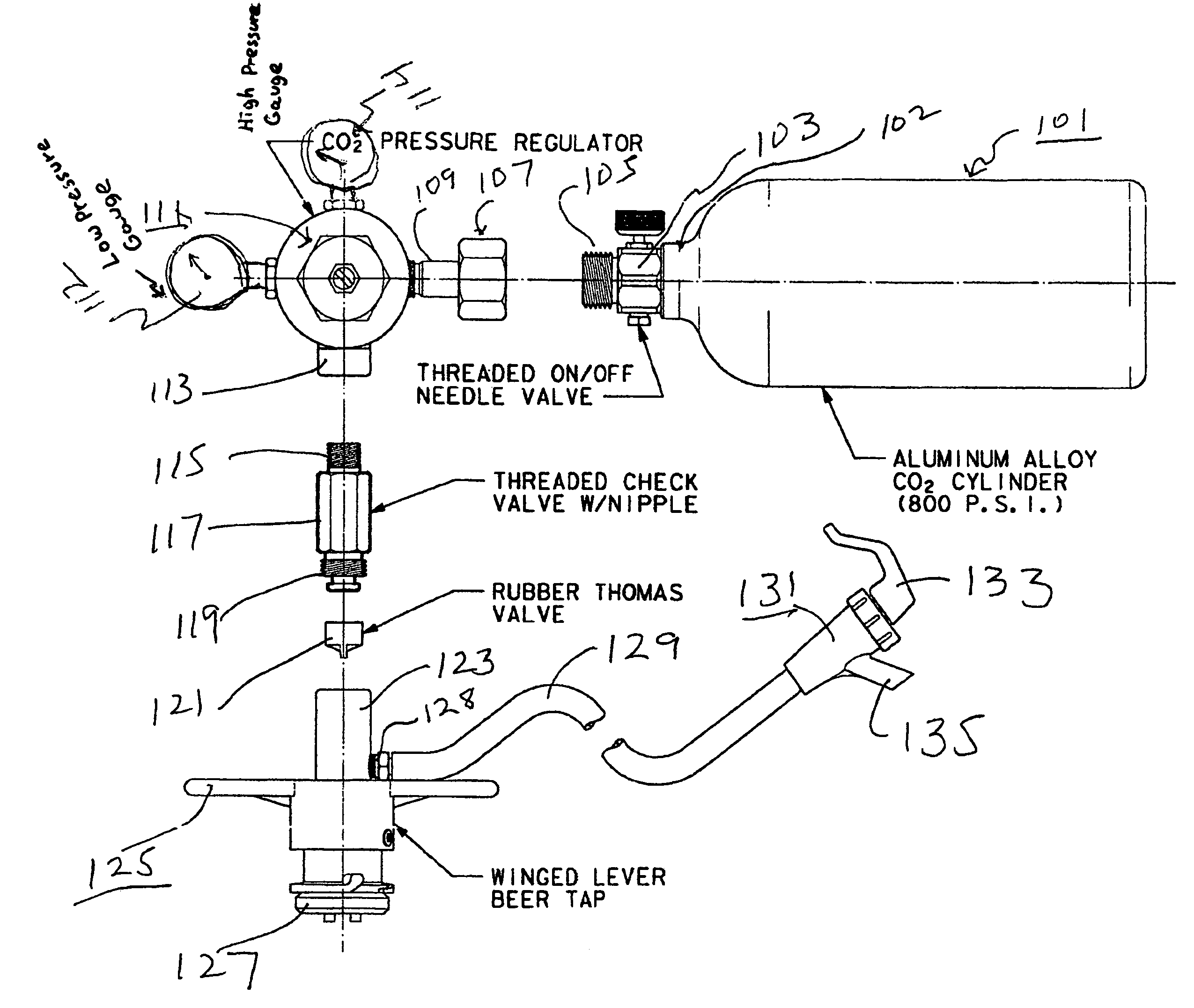Ideas, patent us7131560 portable beer keg tap and dispenser google within size 2550 x 2154  .