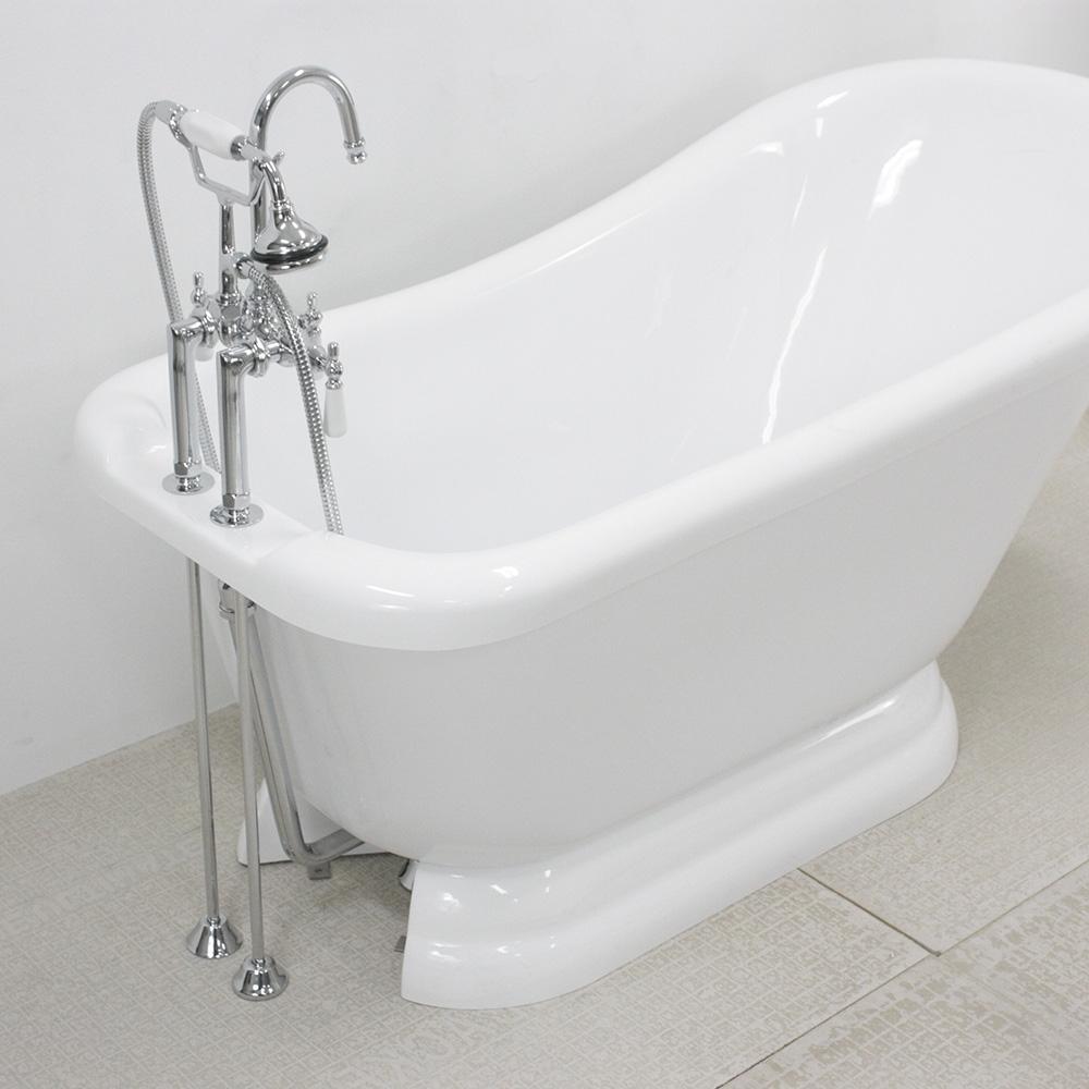Ideas, pedestal tub faucet package pedestal tub faucet package 59 single slipper pedestal tub and faucet package 1000 x 1000  .
