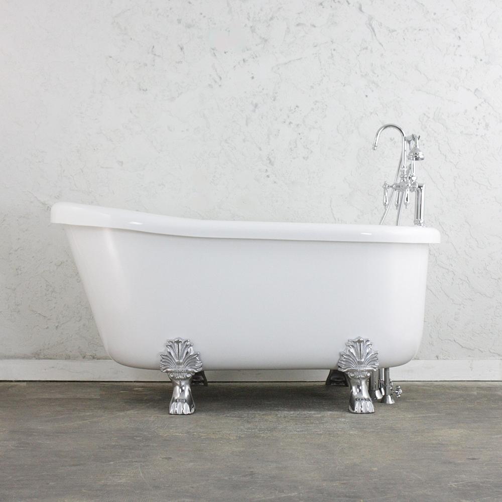 Ideas, pedestal tub faucet package pedestal tub faucet package sansiro ss59a 59 air massage slipper clawfoot tub and faucet package 1000 x 1000  .
