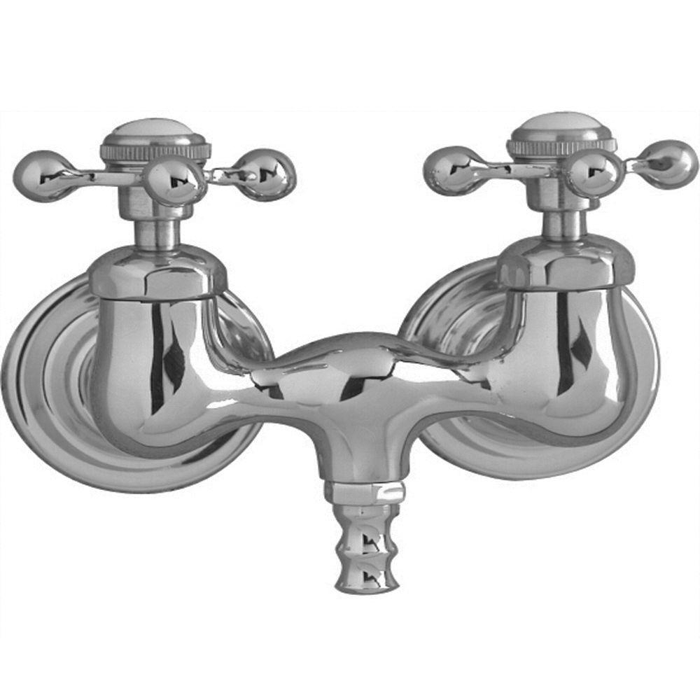 Ideas, pegasus 2 handle claw foot tub faucet with riser 48 in inside measurements 1000 x 1000  .