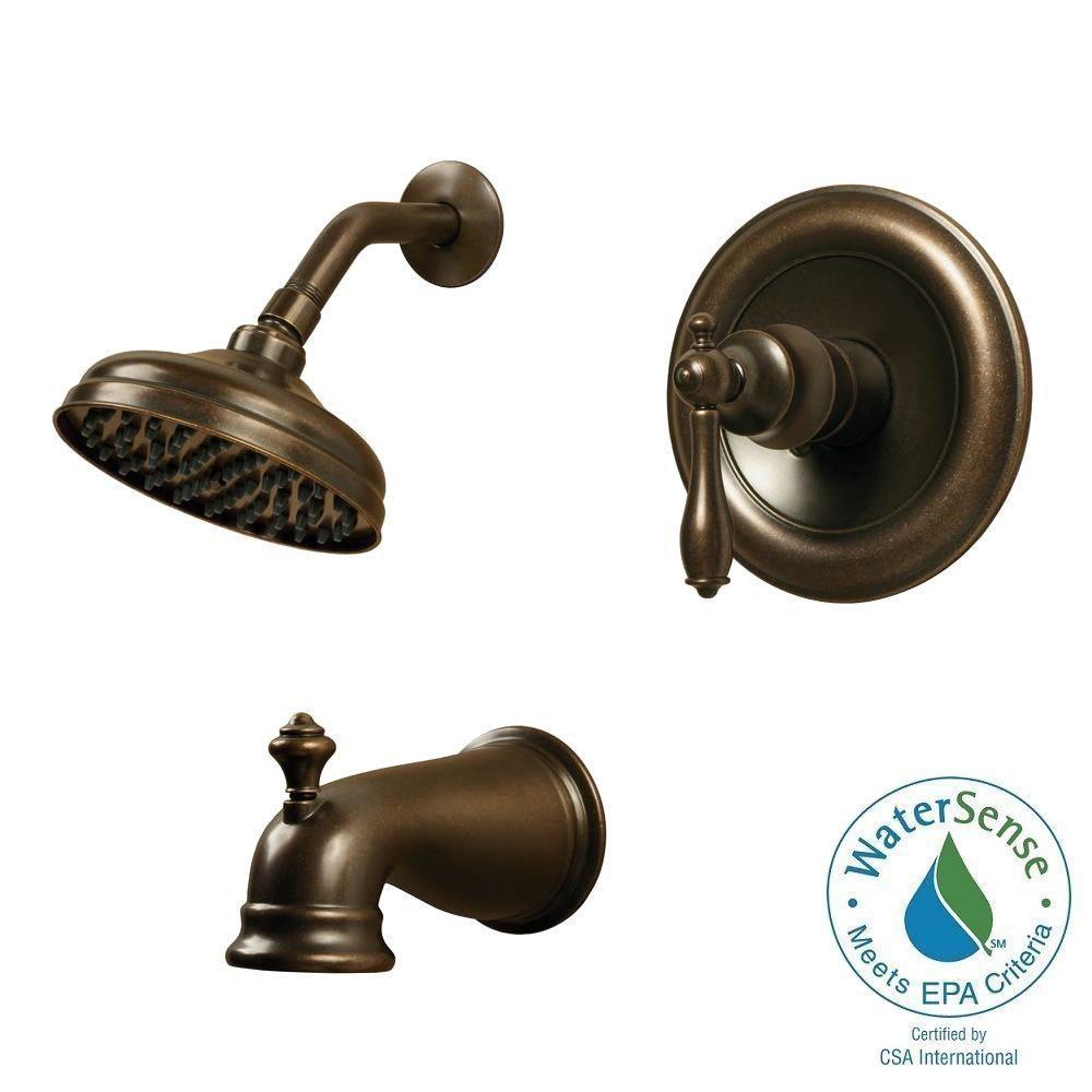 pegasus estates single handle 1 spray shower faucet heritage for proportions 1000 x 1000