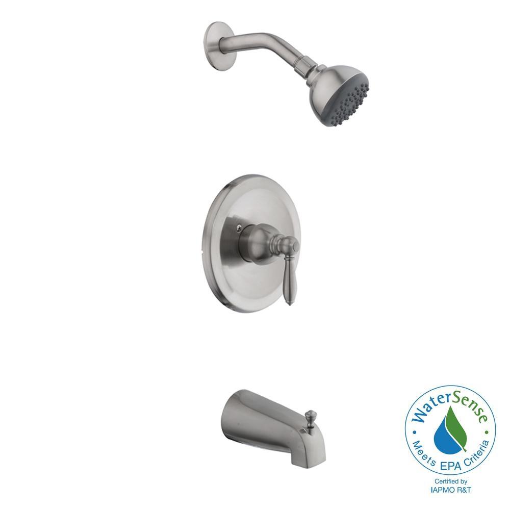 Ideas, pegasus tub and shower faucet series 7000 pegasus tub and shower faucet series 7000 pegasus bamboo watersense single handle 3 spray tub and shower 1000 x 1000  .