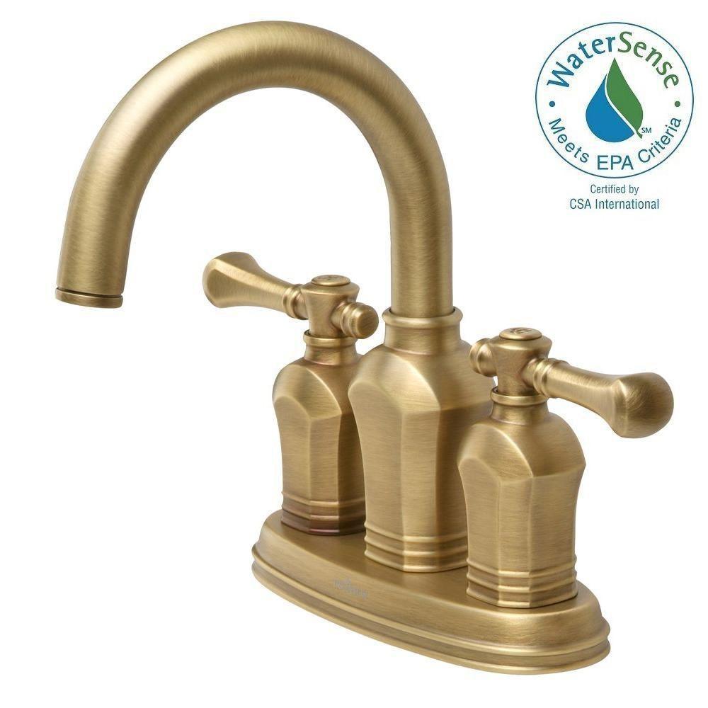 Ideas, pegasus verdanza 4 in centerset 2 handle bathroom faucet in in dimensions 1000 x 1000  .
