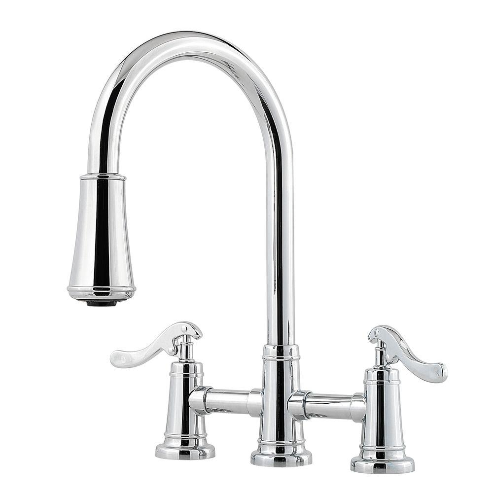pfister ashfield 2 handle pull down sprayer kitchen faucet with inside size 1000 x 1000