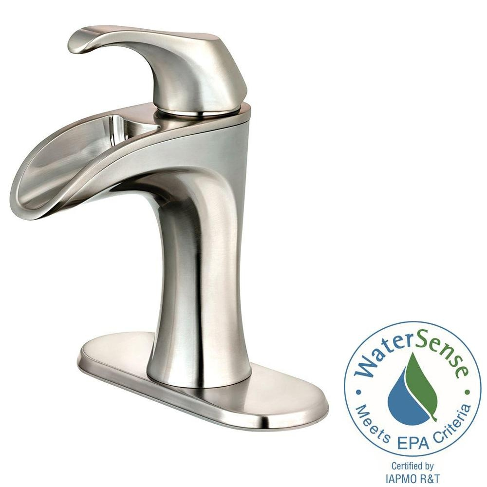 Ideas, pfister brea 4 in centerset single handle bathroom faucet in for sizing 1000 x 1000  .