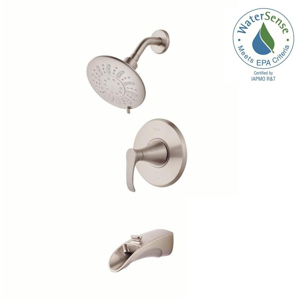 Ideas, pfister brea single handle 3 spray tub and shower faucet in intended for size 1000 x 1000  .