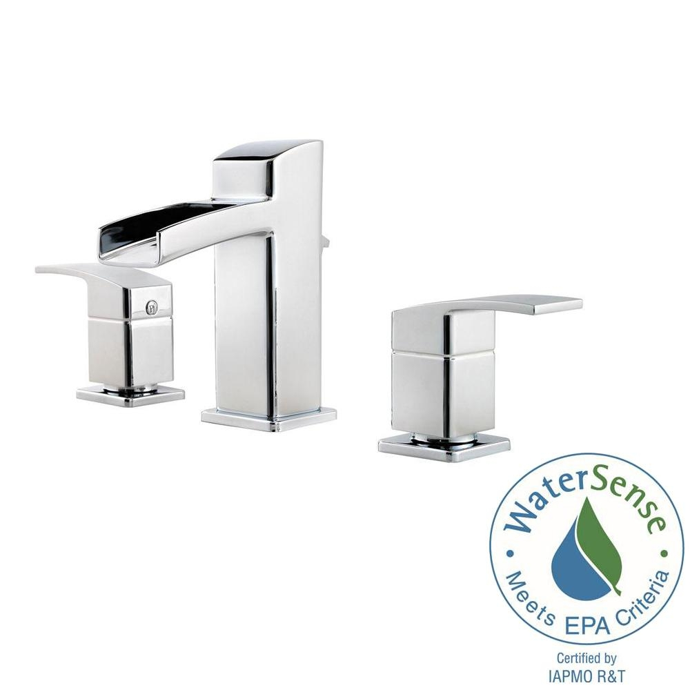 Ideas, pfister kenzo 8 in widespread 2 handle bathroom faucet in in proportions 1000 x 1000  .