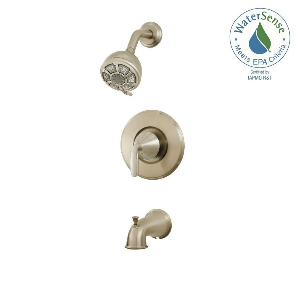 Ideas, pfister pasadena single handle 3 spray tub and shower faucet in for measurements 1000 x 1000  .
